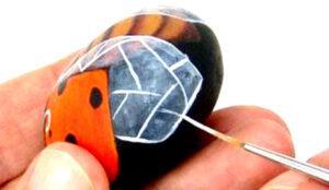 Как расписать камни