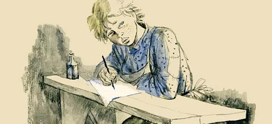 знаменитости иллюстрации к рассказу ванька жуков мае